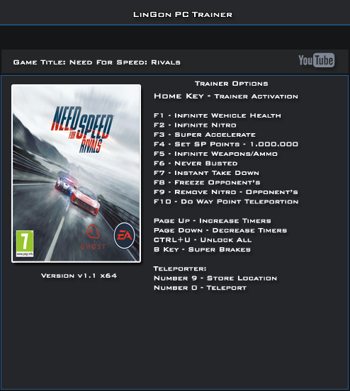 Nfs rival dx Error Fixed rar Download