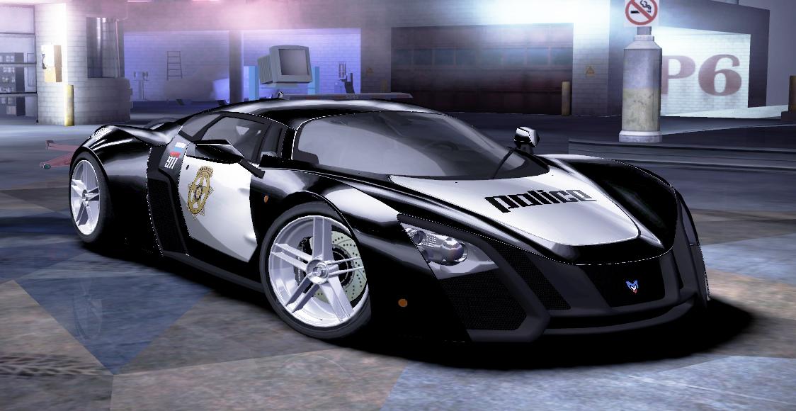 Полицейская Маруся Б2 (Marussia B2 Police) для NFS Carbon