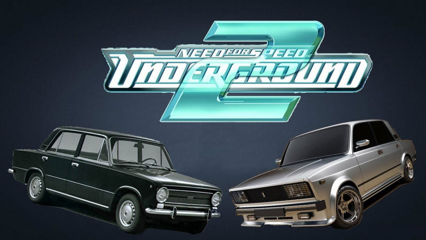 LADA мод - пак русских авто для NFS Underground 2